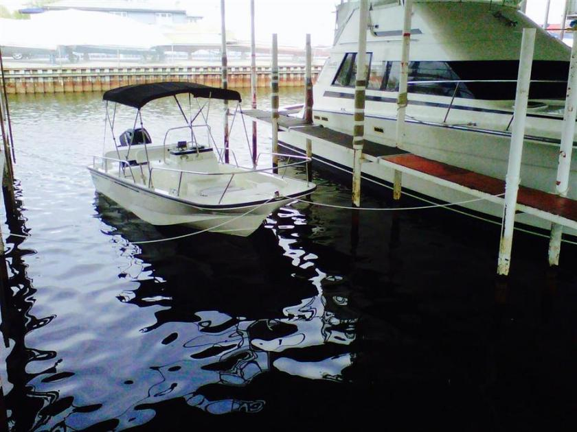 2012 Boston Whaler montauk 17 cc