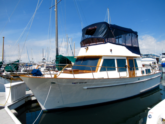 Trawler (power) boats for sale in California - boatinho com