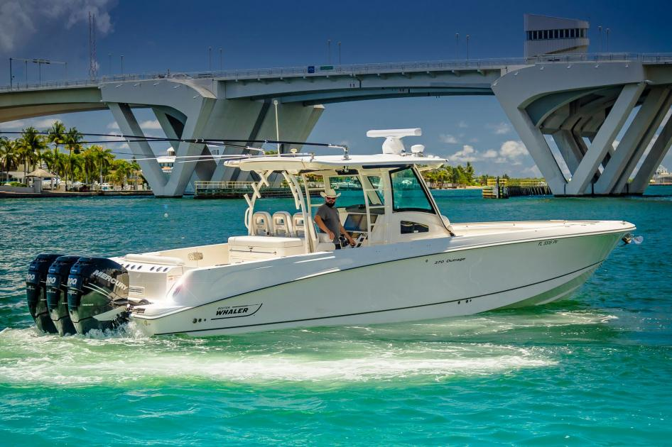 2014 Boston Whaler 300 outrage