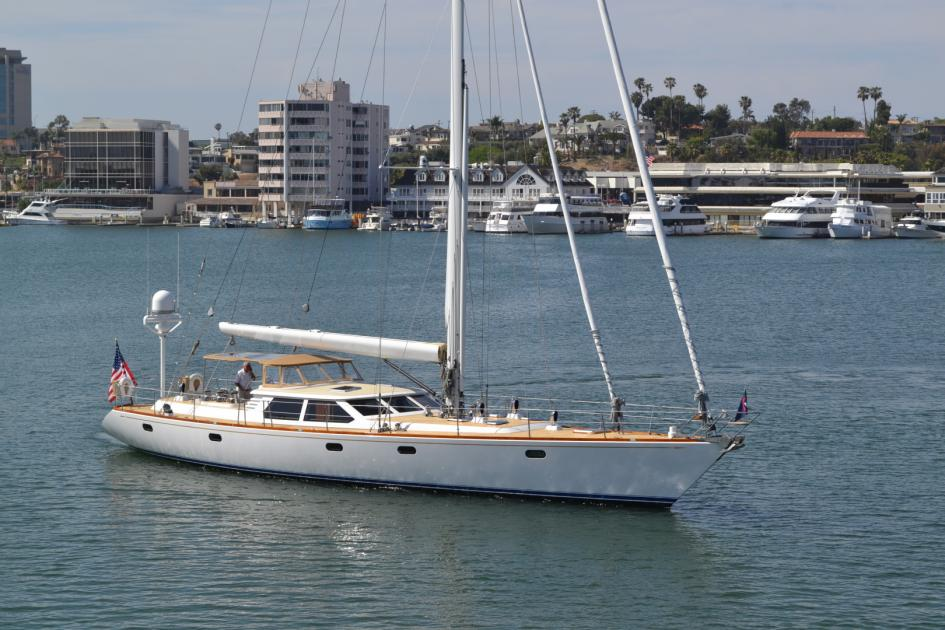 1999 Admiral custom performance sailing yacht