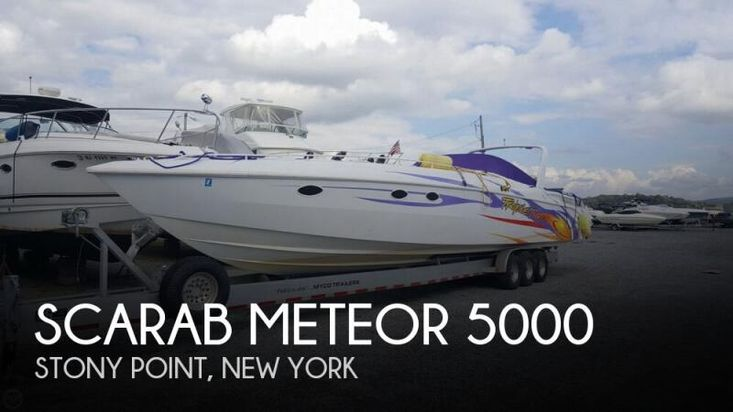 1988 Wellcraft scarab 50 meteor