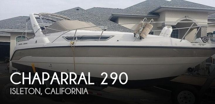 1997 Chaparral 290 signature