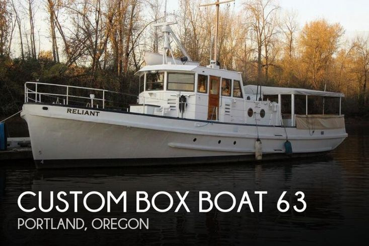1955 Custom box boat 63