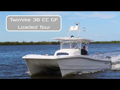2021 Twin Vee 36 center console go fish